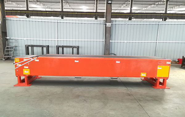Two-section Belt Telescopic conveyor_Fixed type