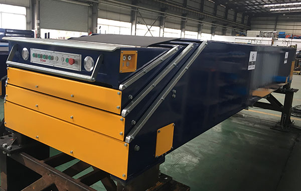 Four-section Belt Telescopic conveyor_Fixed type